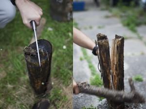 batoning-large-log-with-boker