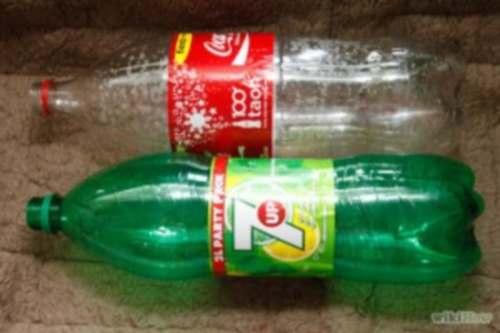 Soda Bottle Solar Stills