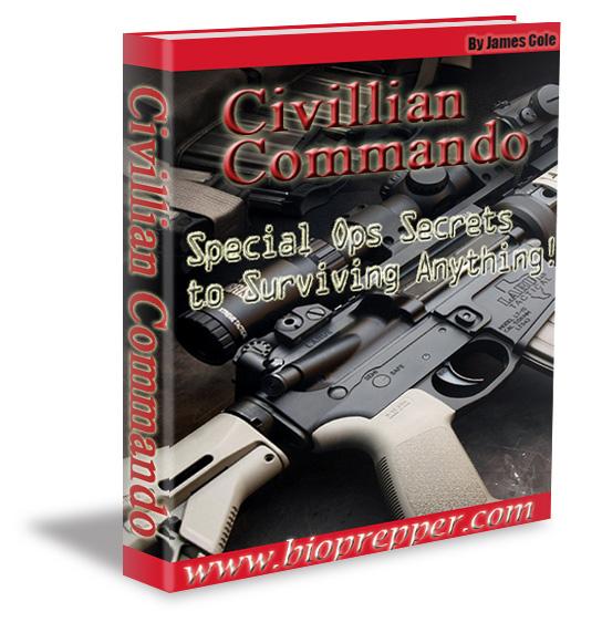 bio book civillian commando book