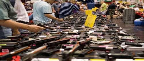 aa-gun-show-array-of-guns-on-tables