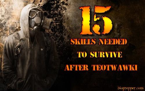 15 Skills Needed to Survive After TEOTWAWKI
