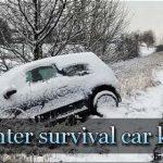 winter survival car kit