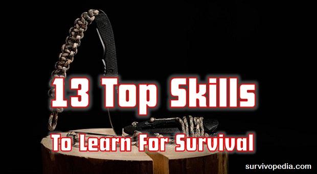 Survivopedia-top-survival-skills Top Skills