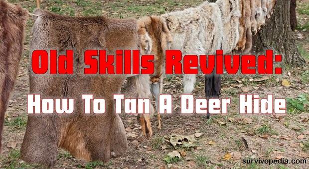 survivopedia-tanning-hide-1/Old Skills Revived: How To Tan A Deer Hide