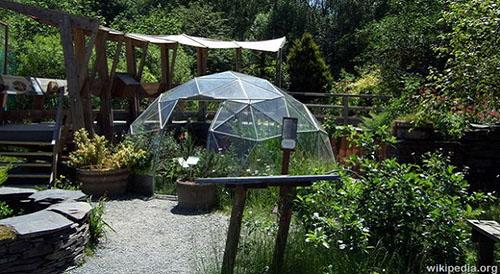 Greenhouse Gardening Biodome