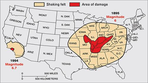 New Madrid Quake