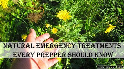 Natural Emergency Treatments